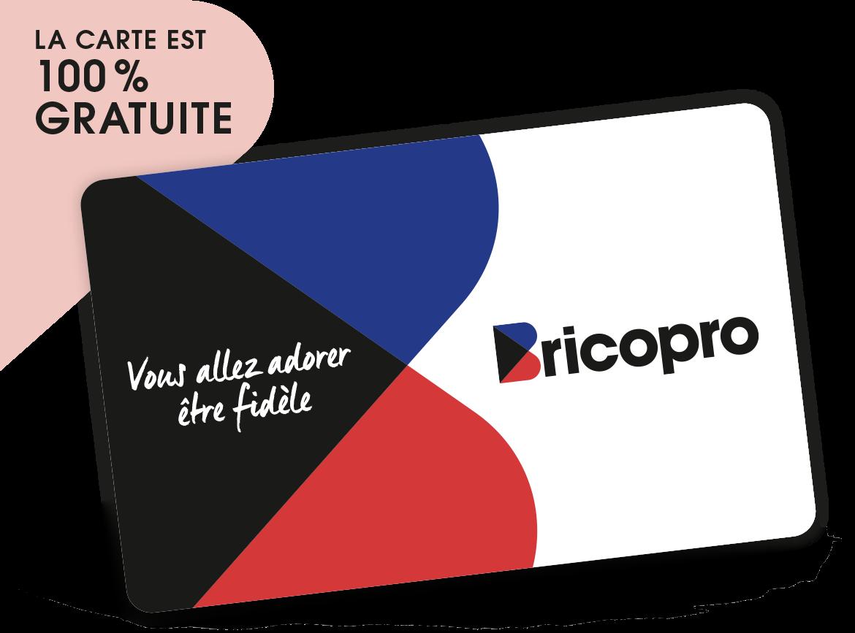 Carte fidélité Bricopro